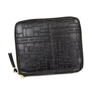 COMME des GARCONS(コムデギャルソン) 二つ折り財布(小銭入れ付) SA2100EL BLACK
