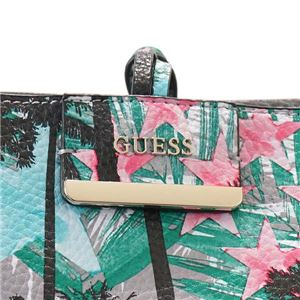 Guess(ゲス) トートバッグ  PP642236 PSI PALM/SILVER f05