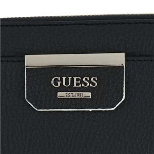 Guess(ゲス) ラウンド長財布  VS642246 BLA BLACK