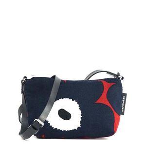 marimekko(マリメッコ) ナナメガケバッグ  43323 359 RED/BLUE/BLACK h01