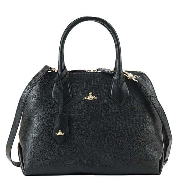 Vivienne Westwood(ヴィヴィアンウエストウッド) ハンドバッグ  131200-10165 265 BLACKf00