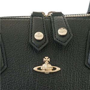 Vivienne Westwood(ヴィヴィアンウエストウッド) ハンドバッグ  131200-10165 265 BLACK f04