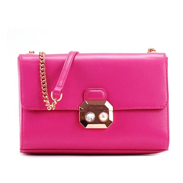 TED BAKER(テッドベーカー) ナナメガケバッグ  134634 55 FUCHSIAf00