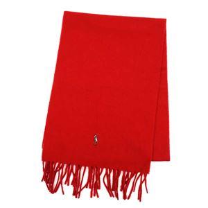 RalphLauren(ラルフローレン) マフラー  6F0510 611 CARRIAGE RED