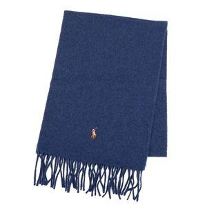 RalphLauren(ラルフローレン) マフラー  6F0510 415 SHALE BLUE HTHR