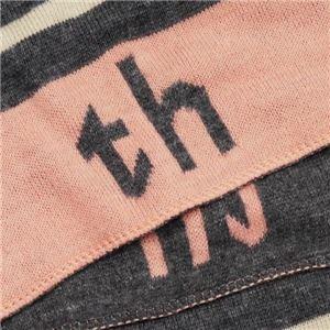 TOMMY HILFIGER(トミーヒルフィガー) マフラー  HTCB-1401 20 GRAY