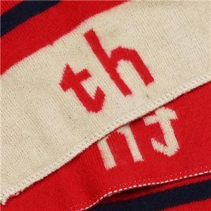 TOMMY HILFIGER(トミーヒルフィガー) マフラー  HTCB-1401 650 PINK