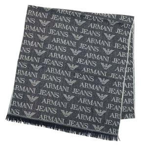ARMANI JEANS(アルマーニジーンズ) マフラー  934504 635 BLU