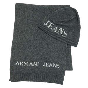 ARMANI JEANS(アルマーニジーンズ) マフラー  937503 440 GRIGIO