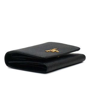 Prada(プラダ) 三つ折り財布(小銭入れ付)  1MH176 F0002 NERO