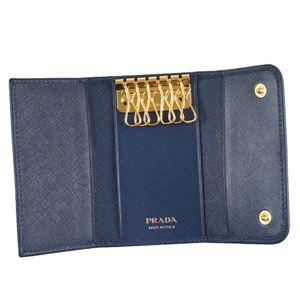 Prada(プラダ) キーケース  1PG222 F0016 BLUETTE