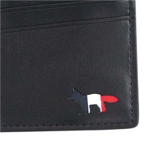 MAISON KITSUNE(メゾンキツネ) カードケース  FW17U1018-BK  BLACK