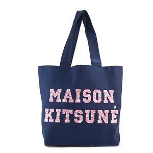 MAISON KITSUNE(メゾンキツネ) トートバッグ  FW17U810-NA  NAVY h01
