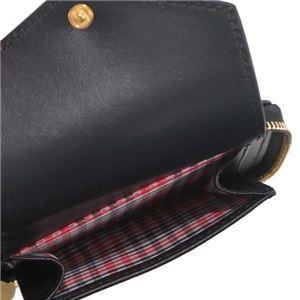 MAISON KITSUNE(メゾンキツネ) 二つ折り財布(小銭入れ付)  FW17W832-BK  BLACK