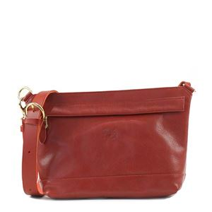 IL BISONTE(イルビゾンテ) ナナメガケバッグ  A2349 245 RUBY RED h01