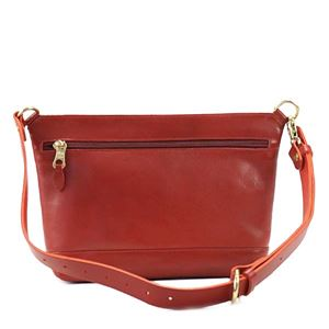 IL BISONTE(イルビゾンテ) ナナメガケバッグ  A2349 245 RUBY RED h02
