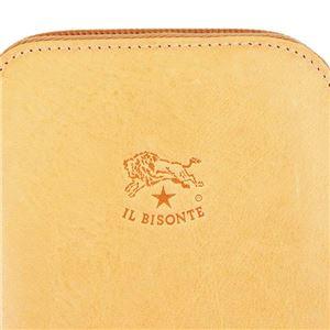 IL BISONTE(イルビゾンテ) ラウンド長財布  C0442 120 NATURAL