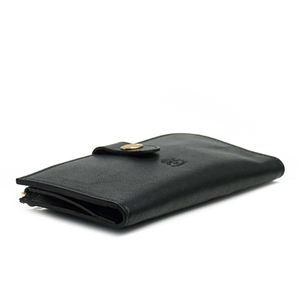 IL BISONTE(イルビゾンテ) フラップ長財布  C0782/M 153 BLACK