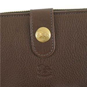 IL BISONTE(イルビゾンテ) フラップ長財布  C0782/M 455 MOKA