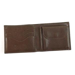 IL BISONTE(イルビゾンテ) 二つ折り財布(小銭入れ付)  C0817 455 MOKA