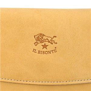 IL BISONTE(イルビゾンテ) フラップ長財布  C0973 120 NATURAL