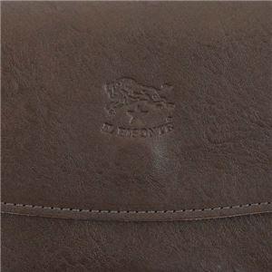 IL BISONTE(イルビゾンテ) フラップ長財布  C0973 455 MOKA