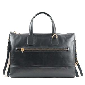 Bally(バリー) ブリーフケース  BUSINESS BAG BLACK BLACK/BEIGE h01
