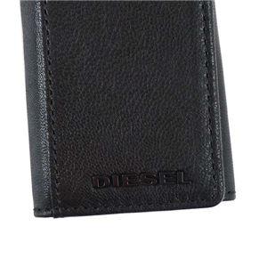 DIESEL(ディーゼル) キーケース  X04462 H3350 BLACK/BLAZING YELLOW