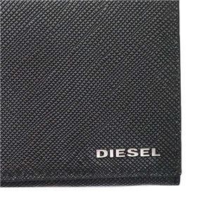 DIESEL(ディーゼル) フラップ長財布  X04748 H5767 BLACK/ANTHRACITE
