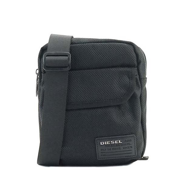 DIESEL(ディーゼル) ナナメガケバッグ  X04010 T8013 BLACKf00
