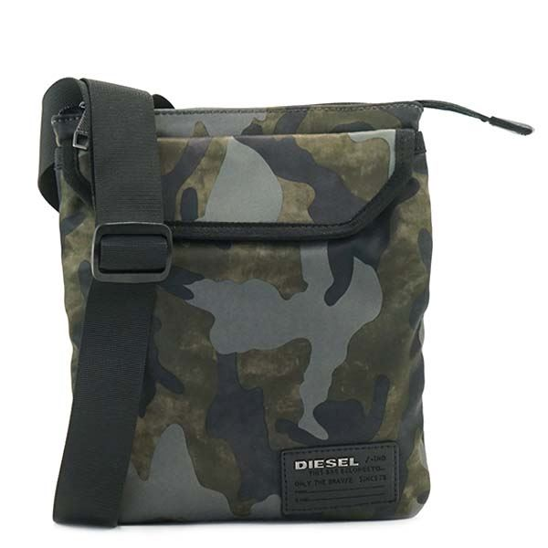 DIESEL(ディーゼル) ナナメガケバッグ  X04327 H5254 MILITARY CAMOUf00