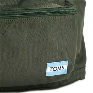 TOMS(トムス) バックパック  10010066  OLIVE f05