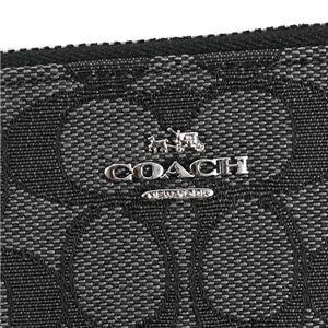 Coach(コーチ) 小銭入れ  64435 SVDK6 BLACK SMOKE/BLACK