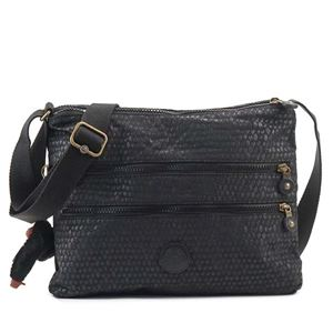 Kipling(キプリング) ナナメガケバッグ  K12472 19M BLACK SCALE EMB - 拡大画像