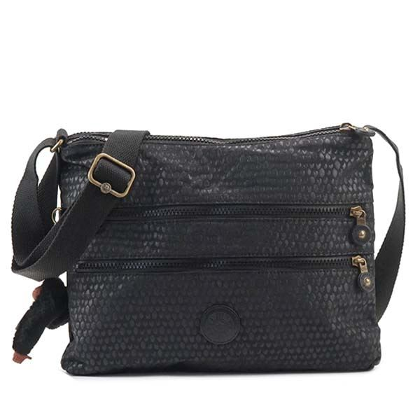 Kipling(キプリング) ナナメガケバッグ  K12472 19M BLACK SCALE EMBf00