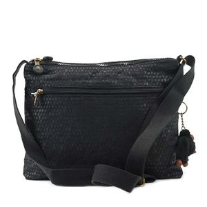 Kipling(キプリング) ナナメガケバッグ  K12472 19M BLACK SCALE EMB h02