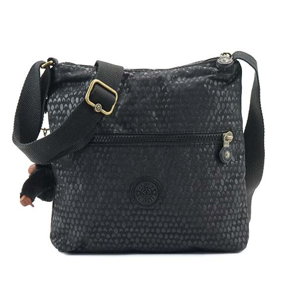 Kipling(キプリング) ナナメガケバッグ  K12483 19M BLACK SCALE EMBf00