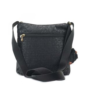 Kipling(キプリング) ナナメガケバッグ  K12483 19M BLACK SCALE EMB h02