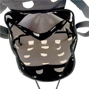 marimekko(マリメッコ) バックパック  45107 910 BLACK/WHITE f04