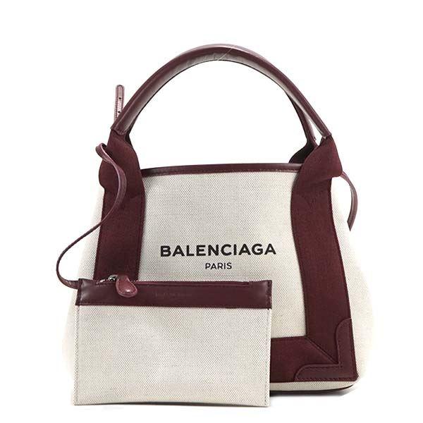 Balenciaga(バレンシアガ) トートバッグ  390346 6181 NAT/ROUGE POURPf00