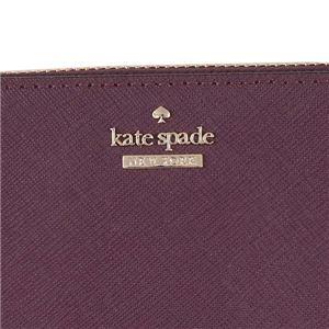 KATE SPADE(ケイトスペード) ラウンド長財布  PWRU5073B 513 DEEP PLUM