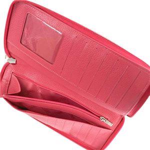 Longchamp(ロンシャン) ラウンド長財布 3417 18 ROSE