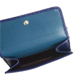 Bvlgari(ブルガリ) 三つ折り財布(小銭入れ付) 281479 ROYAL SAPPHIRE