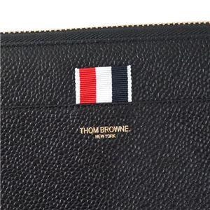 THOM BROWNE(トムブラウン) ラウンド長財布 FAW012A-00198 1 BLACK