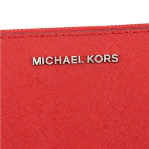 Michael Kors(マイケルコース) ラウンド長財布 32T3STVE3L 204 BRIGHT RED