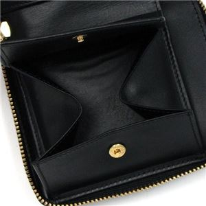 COMME des GARCONS(コムデギャルソン) 二つ折り財布(小銭入れ付) SA2100PD BLACK