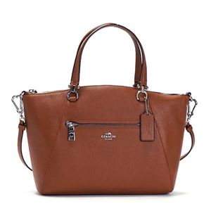 Coach(コーチ) ナナメガケバッグ 34340 SV/SD SV/SADDLE h01