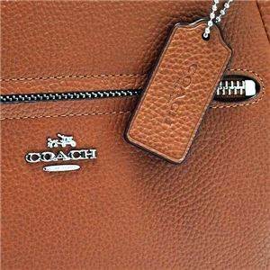 Coach(コーチ) ナナメガケバッグ 34340 SV/SD SV/SADDLE f04