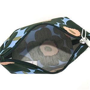 marimekko(マリメッコ) ポーチ 45250 563 BLUE GREEN PEACH h03