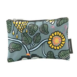 marimekko(マリメッコ) ポーチ 45247 950 GREY/LIGHT BLUE/YELLOW h01